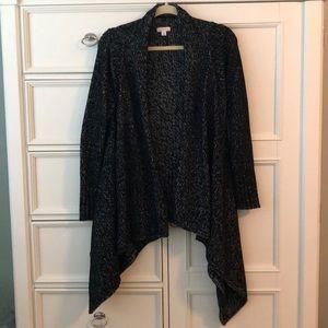 Women's Merona Black Wrap Sweater